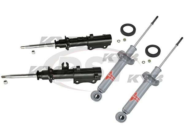 Complete Front and Rear Shocks Kit