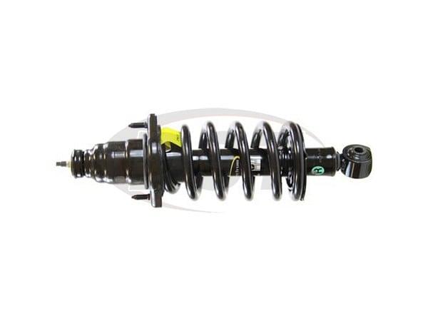 Rear Passenger Side Suspension Strut and Coil Spring Assembly - Monroe Quick-Strut