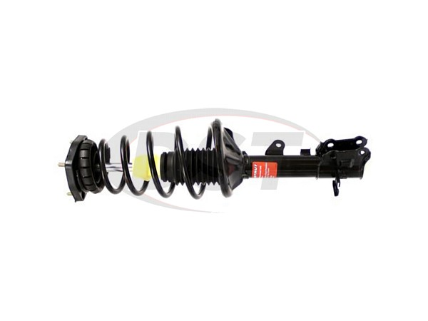 Rear Driver Side Suspension Strut and Coil Spring Assembly - Monroe Quick-Strut