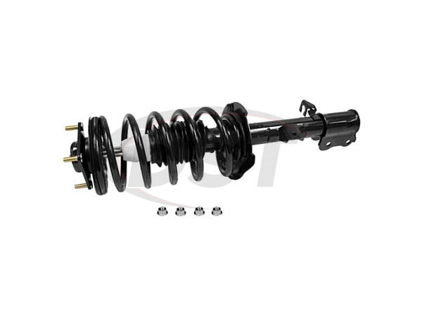 Front Driver Side Suspension Strut and Coil Spring Assembly - Monroe Quick-Strut