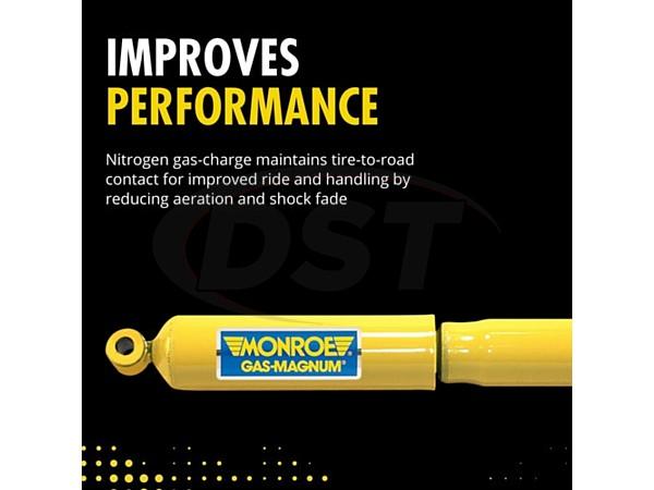 monroe-34817 Front Shock Absorber - Gas-Magnum
