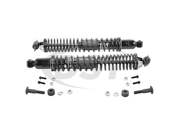 Rear Shock Absorber and Coil Spring Assembly