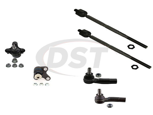 Front End Steering Rebuild Package Kit - AWD