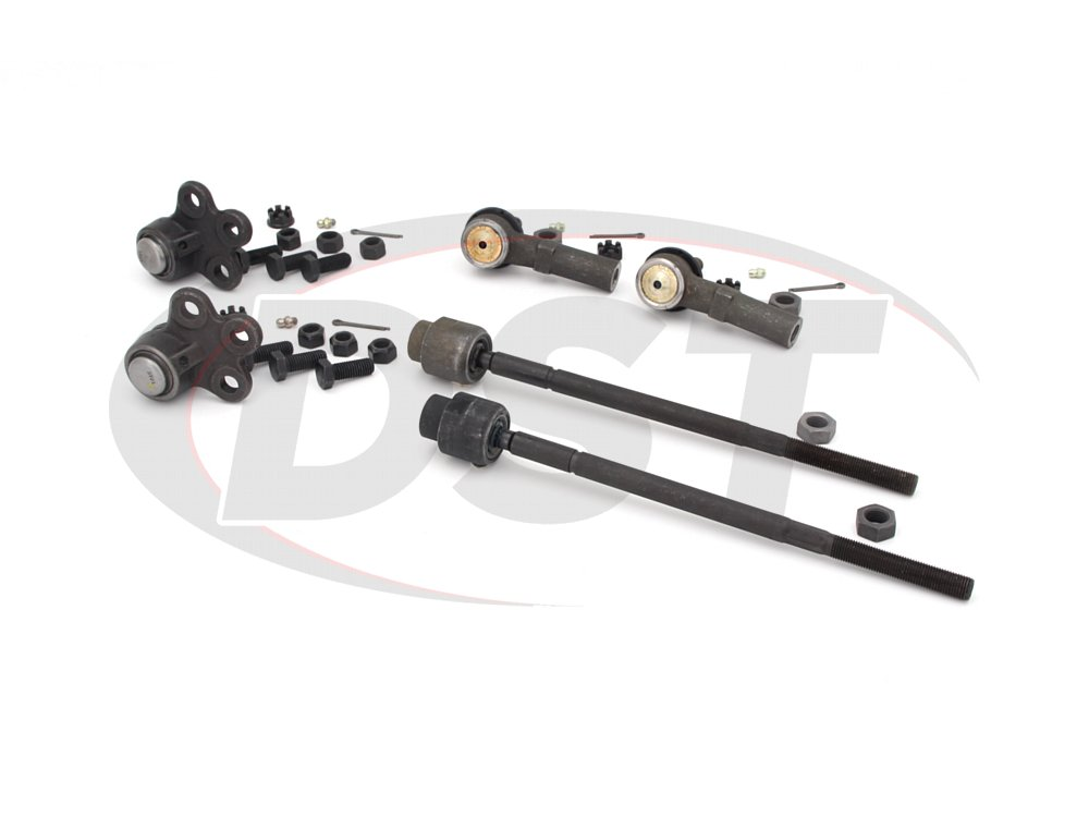 buic-riviera-92-96-moog-front-end-rebuild-kit Front End Steering Rebuild Package Kit
