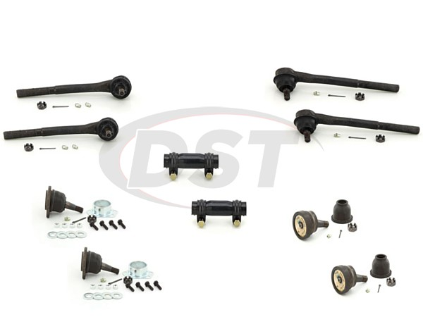 cadi-brougham-87-92-moog-front-end-rebuild-kit Front End Steering Rebuild Package Kit