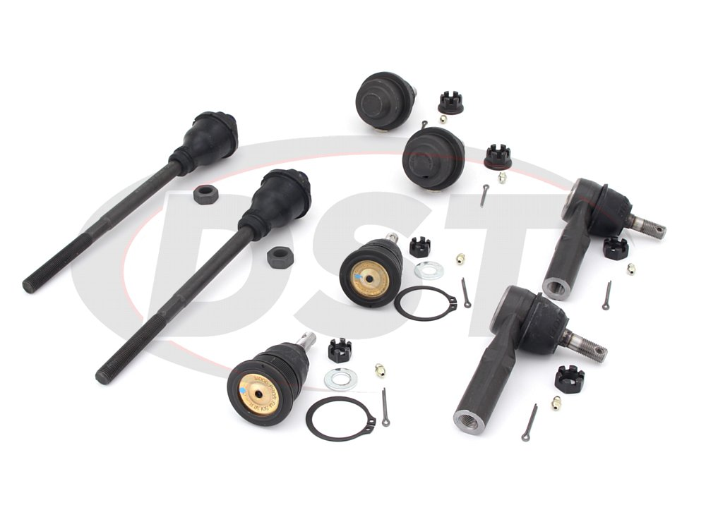 chev-silverado-2500-HD-09-10-moog-front-end-rebuild-kit Front End Steering Rebuild Package Kit