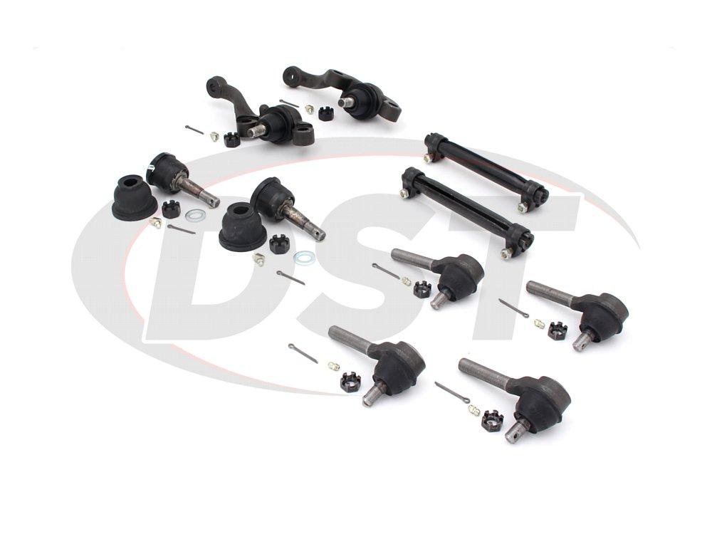 dodg-charger-70-72-moog-front-end-rebuild-kit Front End Steering Rebuild Package Kit