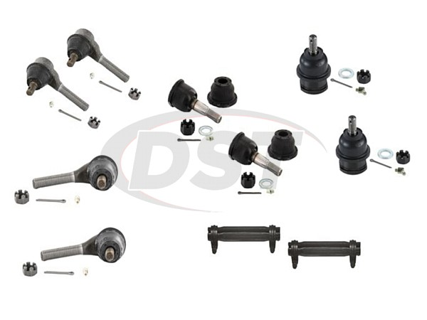 dodg-charger-73-78-moog-front-end-rebuild-kit Front End Steering Rebuild Package Kit