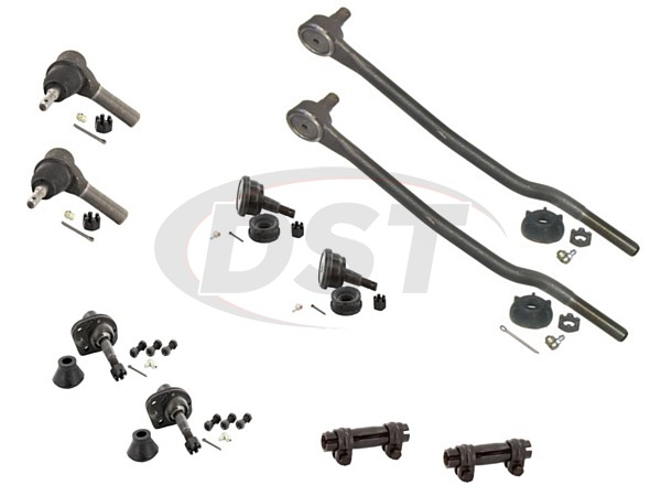 ford-country-squire-73-74-moog-front-end-rebuild-kit Front End Steering Rebuild Package Kit
