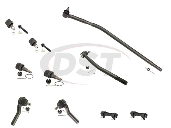 ford-e250-09-14-moog-front-end-rebuild-kit Front End Steering Rebuild Package Kit