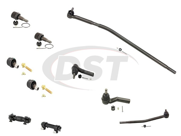 ford-e350-sd-2007-moog-front-end-rebuild-kit Front End Steering Rebuild Package Kit