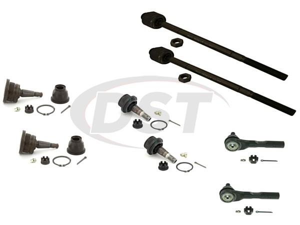 gmc-savana-1500-03-08-moog-front-end-rebuild-kit Front End Steering Rebuild Package Kit