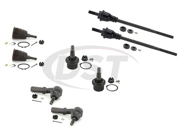 gmc-savana-2500-07-14-moog-front-end-rebuild-kit Front End Steering Rebuild Package Kit