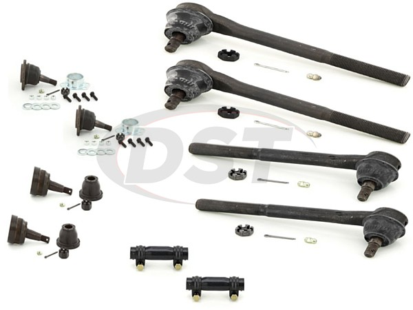 gmc-sonoma-2wd-96-03-moog-front-end-rebuild-kit Front End Steering Rebuild Package Kit