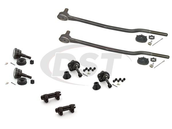 merc-colony-park-73-74-moog-front-end-rebuild-kit Front End Steering Rebuild Package Kit