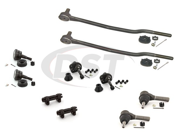 merc-marquis-75-78-moog-front-end-rebuild-kit Front End Steering Rebuild Package Kit