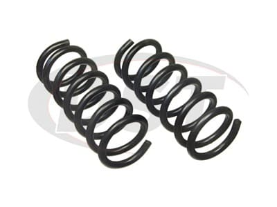 Moog Front Coil Springs and Struts for Excel, Precis, Champ