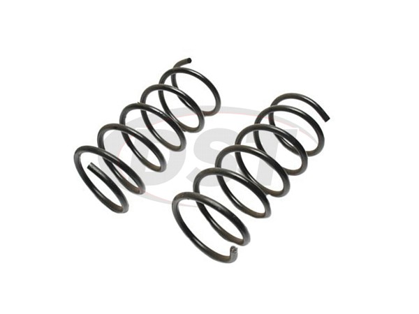 MOOG-2266 Front Coil Springs - Pair - Constant Rate Spring