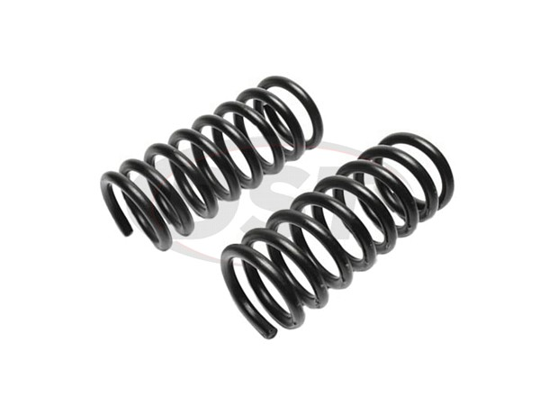 MOOG-2278 Front Coil Springs - Pair - Constant Rate Spring