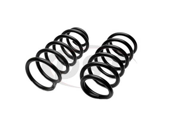 constant rate coil springs - front