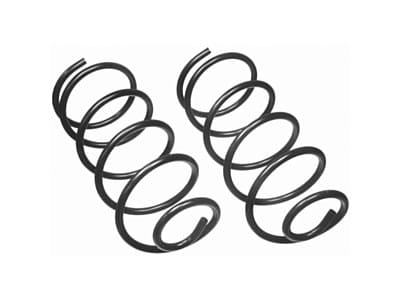 Moog Front Coil Springs and Struts for Wrangler