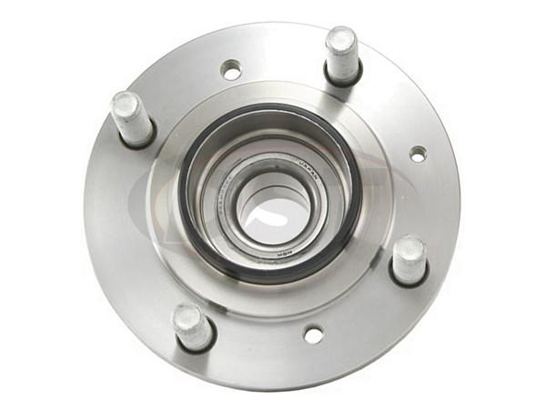 Rear wheel bearing and hub assembly eagle moog