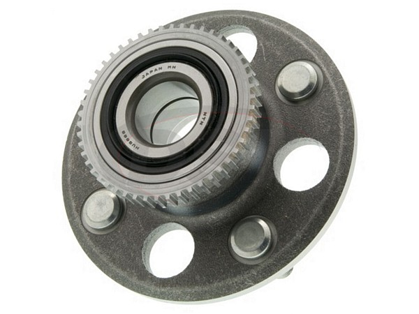 MOOG-512042 Rear Wheel Bearing and Hub Assembly - 4 Wheel ABS - Rear Drum Brakes