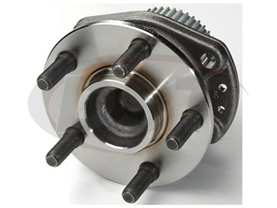 Rear Wheel Bearing and Hub Assembly - 14 Inch Wheels