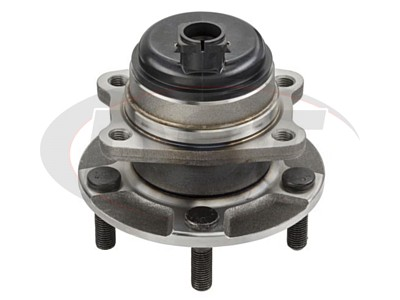 Rear Wheel Bearing and Hub Assembly - Front Wheel Drive - With Anti Lock Brakes