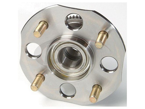 moog-512177 Rear Wheel Bearing and Hub Assembly - Drum Brakes - ABS