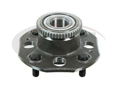 Rear Wheel Bearing and Hub Assembly - Disk Brakes - 4 Cylinder