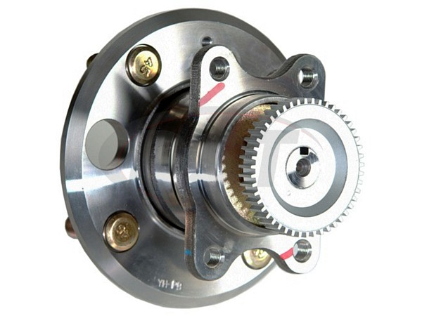 MOOG-512190 Rear Wheel Bearing and Hub Assembly - With Anti Lock Brakes