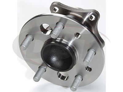 Rear Wheel Bearing and Hub Assembly - Passenger Side