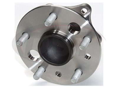 Rear Wheel Bearing and Hub Assembly - non ABS models