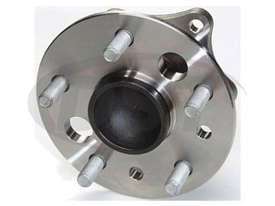Rear Wheel Bearing and Hub Assembly - non ABS models