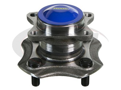 Rear Wheel Bearing and Hub Assembly - Without Anti Lock Brakes