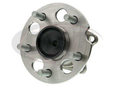 Rear Wheel Bearing and Hub Assembly - Front Wheel Drive - With 4-Wheel ABS