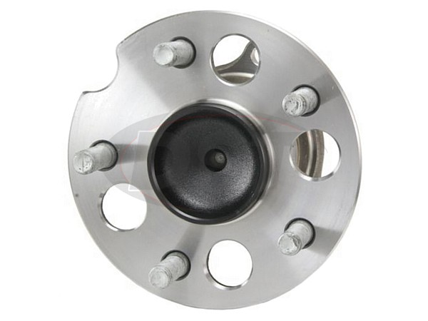 Rear Wheel Bearing and Hub Assembly - Front Wheel Drive - Without ABS