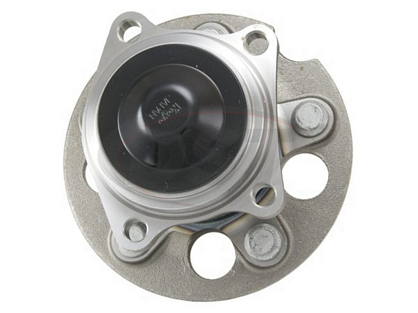 MOOG-512213 Rear Wheel Bearing and Hub Assembly - Front Wheel Drive - Without ABS