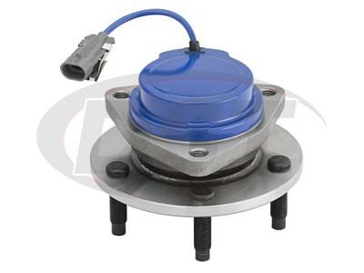 Rear Wheel Bearing and Hub Assembly - 4-Wheel ABS models