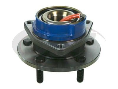 Rear Wheel Bearing and Hub Assembly - 5 Stud Hub