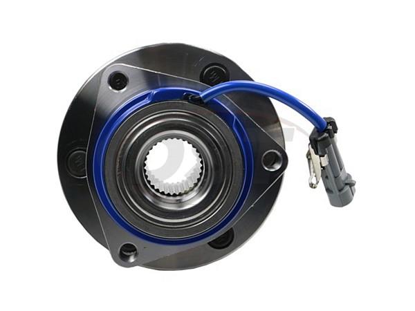 moog-512243 Rear Wheel Bearing and Hub Assembly - 6 Stud Hub