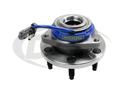 Rear Wheel Bearing and Hub Assembly - 6 Stud Hub