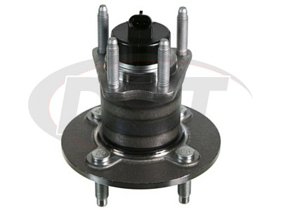 Rear Wheel Bearing and Hub Assembly 4-Stud Hub