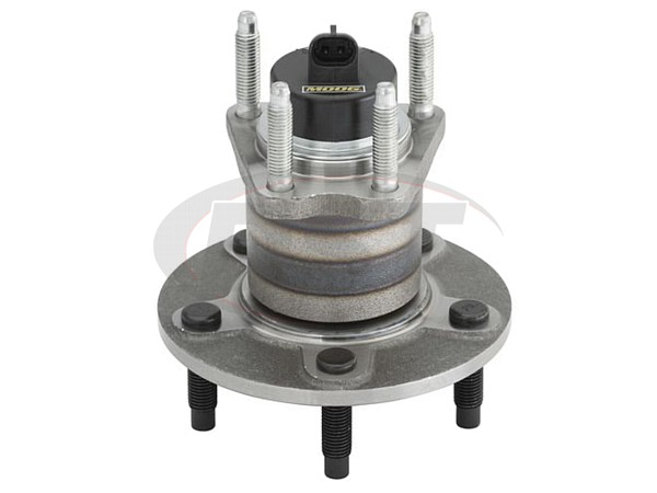 MOOG-512250 Rear Wheel Bearing and Hub Assembly 5-Stud Hub - With Anti Lock Brakes