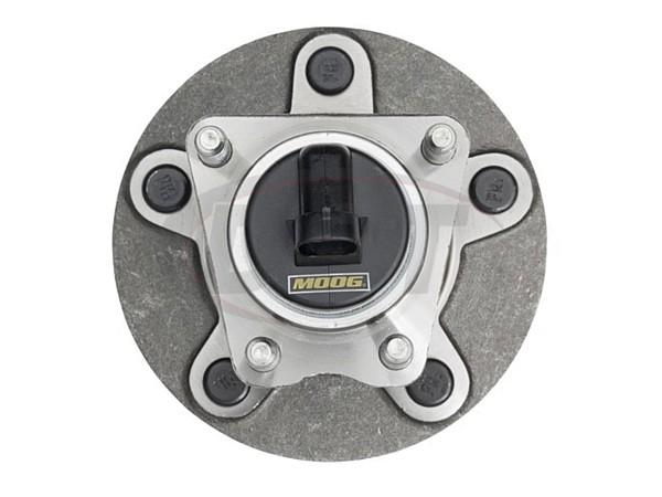 MOOG-512250 Rear Wheel Bearing and Hub Assembly 5-Stud Hub - With Anti Lock Brakes