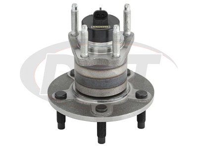 Rear Wheel Bearing and Hub Assembly 5-Stud Hub - With Anti Lock Brakes