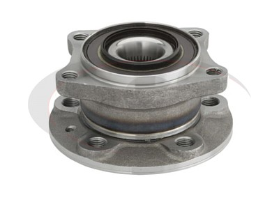 Rear Wheel Bearing and Hub Assembly - AWD models