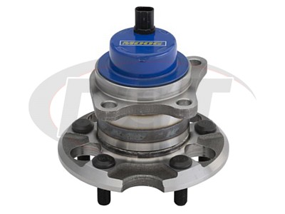 Rear Wheel Bearing and Hub Assembly - Driver Side - Front Wheel Drive