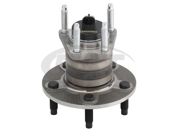 Rear Wheel Bearing and Hub Assembly - With Anti Lock Brakes